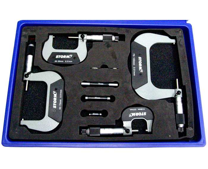3M214 STORM™ Conventional Micrometer Set