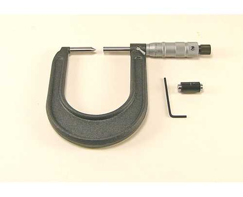 6202 – Conventional Disc Brake Micrometer